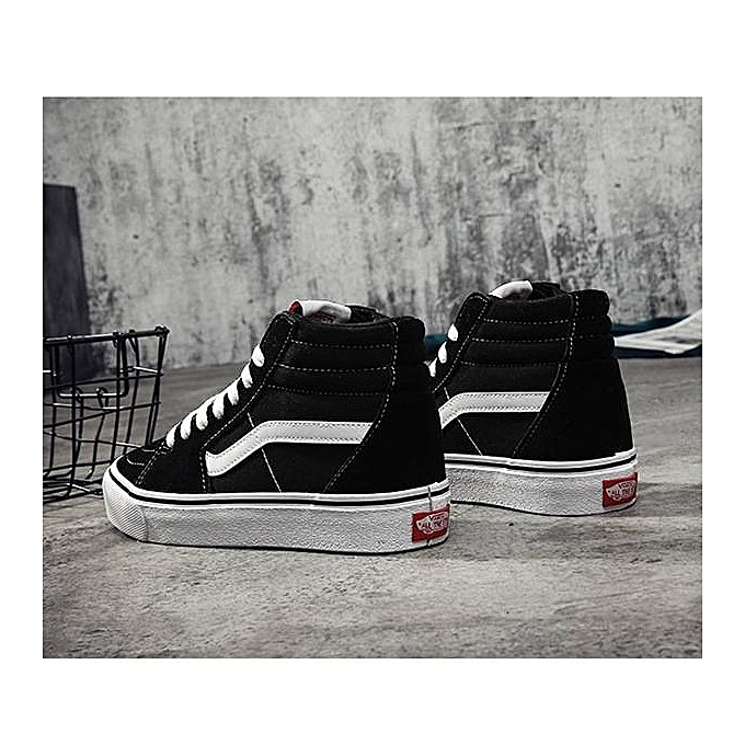 11d8ba05e7 ... VANS Old School High-top CLASSICS Unisex MEN S   WOWEN S Skateboarding  Shoes Sports Canvas Shoes ...