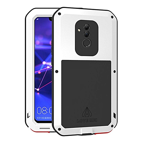 official photos 8b44c 106a5 Huawei Mate 20 Lite Waterproof Case, Shockproof Snowproof Dustproof Durable  Aluminum Metal Heavy Duty Full-body Protection Case Cover for Huawei Mate  ...