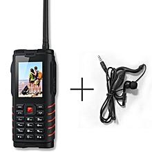 Waterproof 4500mAh big battery Rugged Cell Phone 2.4Inch 2SIM 2G 1.3MP camera Power