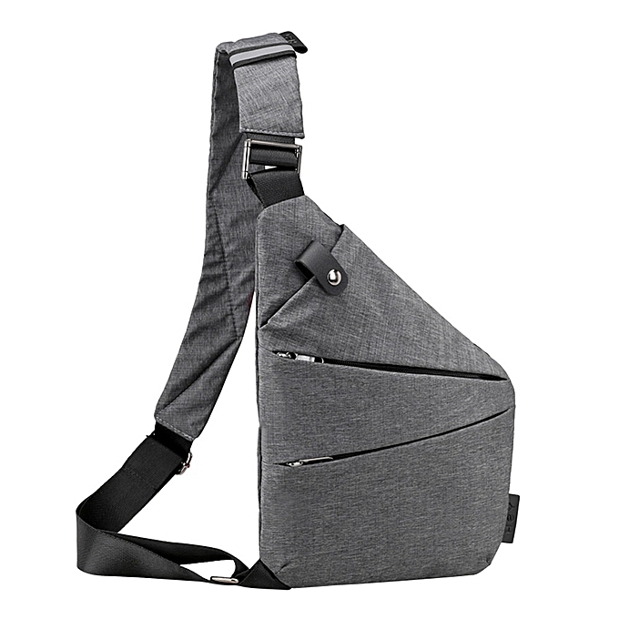 47a5b2d6238 Fashion Chest Bag Men Women Sling Bag Casual Canvas Chest Anti Theft Crossbody  Bags High Quality