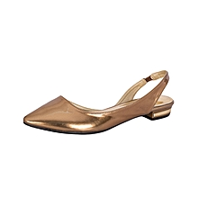 Bronze Women's Office Shoes