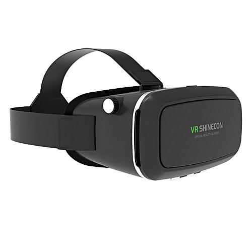 b0cc4f9e4fc7 Generic VR Pro Virtual Reality 3D Glasses VR Google Cardboard Headset Box Head  Mount for Smartphone 4-6  Mobile Phone QDJRO