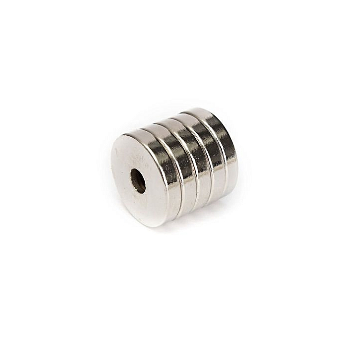 ... 5pcs N50 Strong Round Ring Magnets 20mm X 4mm Hole 5mm Rare Earth Neodymium