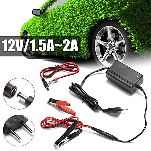 Buy Generic 12v 2a Smart Battery Charger Tender Maintainer For Car