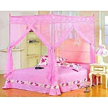 Mosquito Net with Metallic Stand -Pink