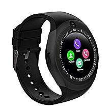 Y1 - Smart Watch with M-pesa menu, Camera and Bluetooth Black