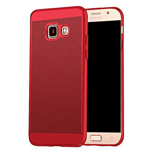 info for ab983 2dbdc Ultra Slim Mesh Case Lightweight Heat Dissipation Anti-Scratch Premium Hard  PC Anti-fingerprint Shell Protective Case Cover for Samsung Galaxy A7 2017  ...