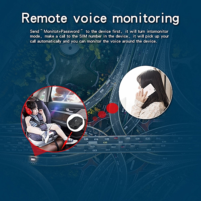 3G Waterproof Car GPS Tracker TK905-3G Magnet Vehicle GPS Locator TimeAPP  5000mAh Battery Standby 60Days