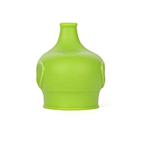 Safety For Kids Silicone Sippy Lids - Make Most Cups a Sippy Cup Leak Proof-Green