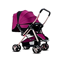 Purple  lightweight  Foldable Baby Stroller/ pram/push chair