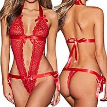 High end Women Sexy Lingerie Underwear Lace Bra Bralette Panty Bandage Babydoll Bodysuit