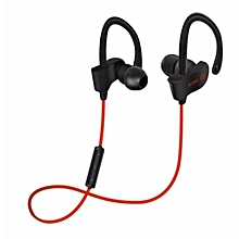 S4 In-Ear Bluetooth Wireless Sport Running Headset Bluetooth Headphones(Red)