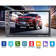 276698f415ad 2 DIN 7 quot  Car Stereo Radio Bluetooth MP5 Player Touch Screen Dual USB  Music 7036