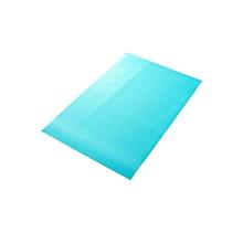 Antibacterial Antifouling Mildew Moisture Absorption Pad Freezer (Blue)