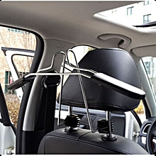 Car Cloth Hanger Car Back Racks Car Seat Back Stainless Steel Hanger-
