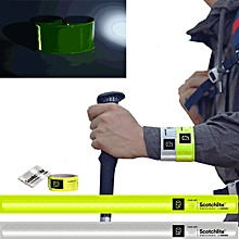 Xiaomi Scotchlite Reflective Wristband One Second Quick Wearing Automatic Flexible Strap