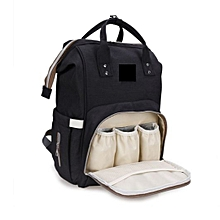 Black Maternity Diaper Baby Bag Backpack For Baby Care  Bags For Mothers