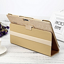 Case Universal Folio Leather Stand Cover Case For 10 10.1 Inch Android Tablet PC-Gold