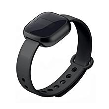 Bluetooth Smart Watch Outdoor Sports Wearing Wristband Bracelet Fashion Device black