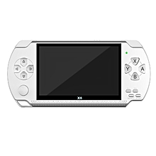X6 4.3 Inch Handheld Game Console Video Game Player (White)