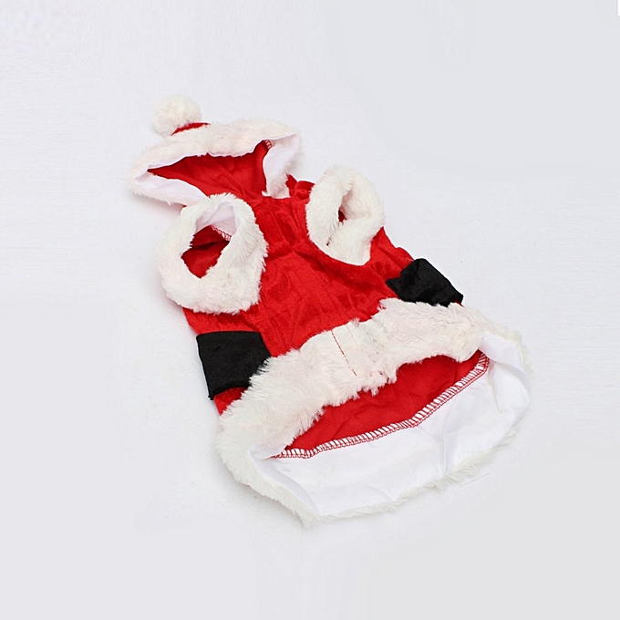 Buy UNIVERSAL Pet Puppy Dog Cat Christmas Clothes Santa Claus ...
