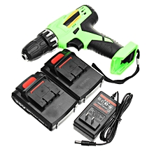 Rechargeable Cordless Drill 25V Lithium-Ion Battery Electric Hammer Screwdriver