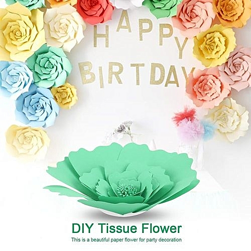 Buy Generic Diy Beautiful Tissue Paper Flower Decoration For