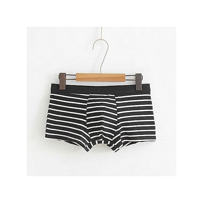 71e09bee92 Men s Underwear Intimates Mens Sexy Stripe Underwear Shorts Men Boxers  Underpants Soft ...