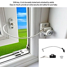 Baby Child Safety Window Door Opening Restrictor Security Cable Lock 19cm Flexible Wire
