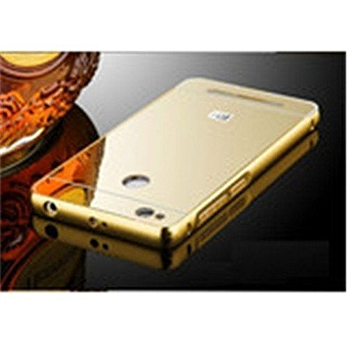 big sale f457f 0b7ef Aluminum Metal Frame + PC Mirror Back Cover Case For Xiaomi Redmi 3s 304404  (As Main Picture)
