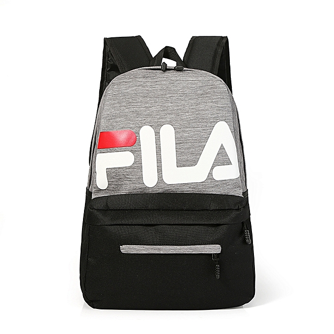 041023a70 FILA Students Backpack Large Capacity School Outdoors Travel Sports Men and  Women Bag