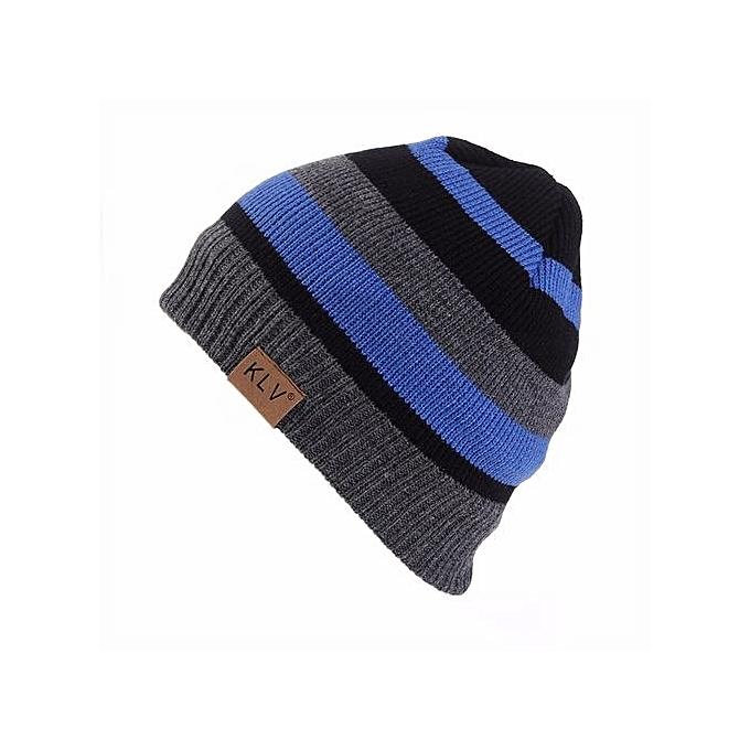 78382d59219 Unisex Men Women Baggy Warm Crochet Winter Wool Knit Ski Beanie Skull  Slouchy Caps Hat