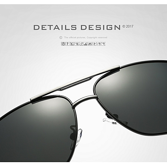 cff5344ce07 ... Fashion Luxury Designer Vintage men s Sunglasses Polarized Mirror ...