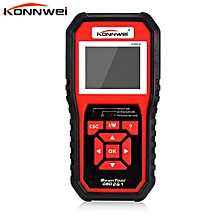 KW850 Universal OBD II OBD2 EOBD Auto Diagnostic Scanner Code Readers Scan Tool TFT Color Display Multiple Languages HonTai
