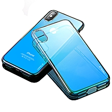 Cafele Gradient Color Hard PC Protective Case For iPhone X