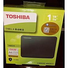 Toshiba 1TB .  Portable External Hard Drive Disk USB3.0