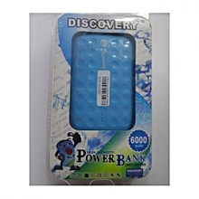 Power Bank 6000mAh - Blue
