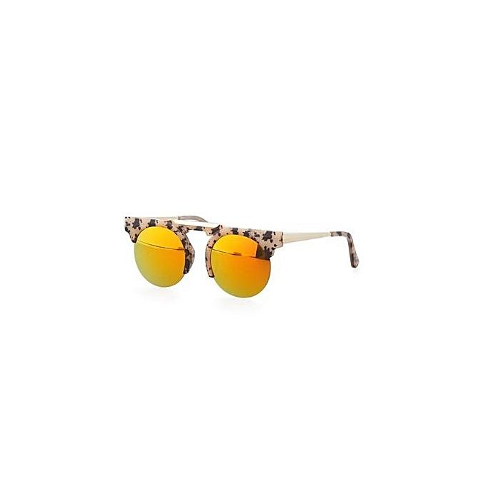 a5a75a0506 ... EOZY Fashion Women Semi - Rimless Sunglasses Vintage Ladies Leisure Sun  Glasses Summer Beach UV Protection