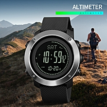 Altimeter Barometer Thermometer Altitude Men Digital Watches Sports Clock Climbing Hiking Wristwatch