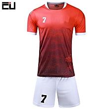 a1254be2e Customized Children Boy And Men  039 s Football Soccer Team Sports Jersey  Uniform(