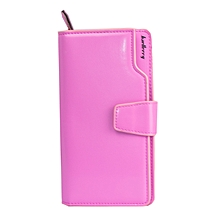 Women's Stylish Official Baellery Wallet – Baby Pink