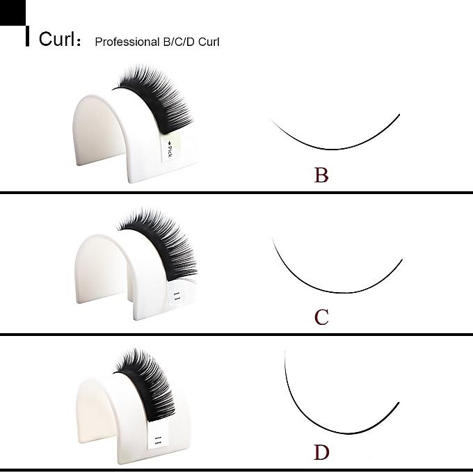 d185af4906d ... THINKSHOW All Sizes Individual Eyelashes Natural Lashes Extension  Maquiagem Cilios for Professionals Faux Mink Eyelash ExtensionCurl ...