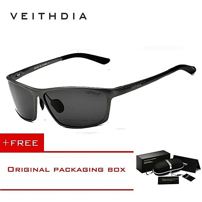d17d5dd19 VEITHDIA Brand Designer Aluminum Men's Polarized Sunglasses Sunglass Eyewear  Accessories Men Sun Glasses 6520 ...
