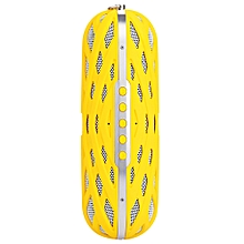 AbramTek M16 Portable Wireless Multifunctional Bluetooth 4.0 Speaker With Built-in Micphone-YELLOW