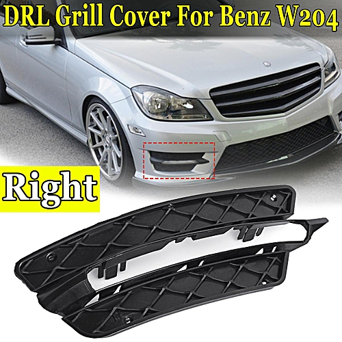 26457dddb4a881 Generic R Lower Bumper DRL Grille Grill For Mercedes-Benz W204 A2048851453  A2048851353