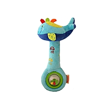 Whale Rattle And Squeaker Toy - Multicolour