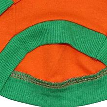 Halloween Pet Puppy dog Shirt Tops Pumpkin Costumes S-Orange