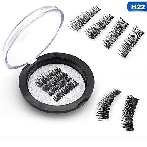bc91d1fa1f5 Generic Magnetic Eyelashes With 3 Magnets Handmade 3D/6D Magnetic Lashes  Natural False Eyelashes Magnet Lashes Can Dropshipping(22)