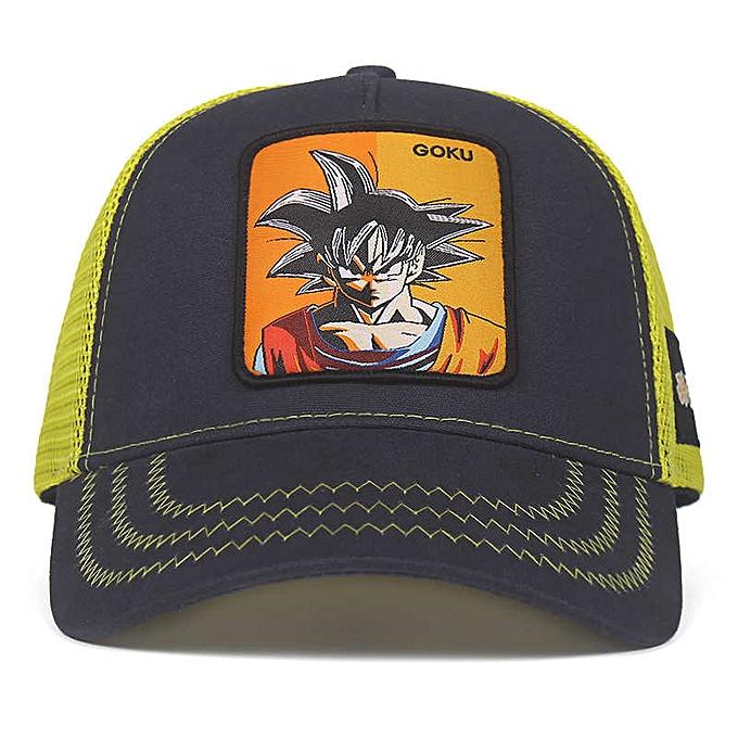 7cb50bfeb New Dragon Ball Z Goku VEGETA MAJIN Snapback Cap Baseball Cap Men Women Hip  Hop Dad Hat Trucker Mesh Hat Dropshipping(GOKU)