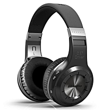 Bluedio HT Hurricane-Turbine Wireless Bluetooth V4.1 Headset Over-The-Ear Headphones (Black)-1 Year Bluedio Malaysia Warranty